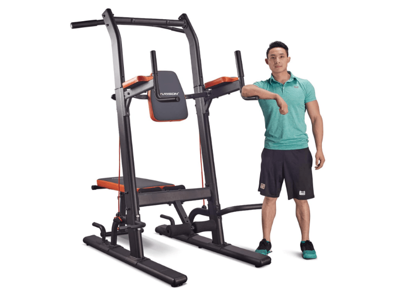 6. HARISON Multifunction Power Tower – Best Pull Up Station