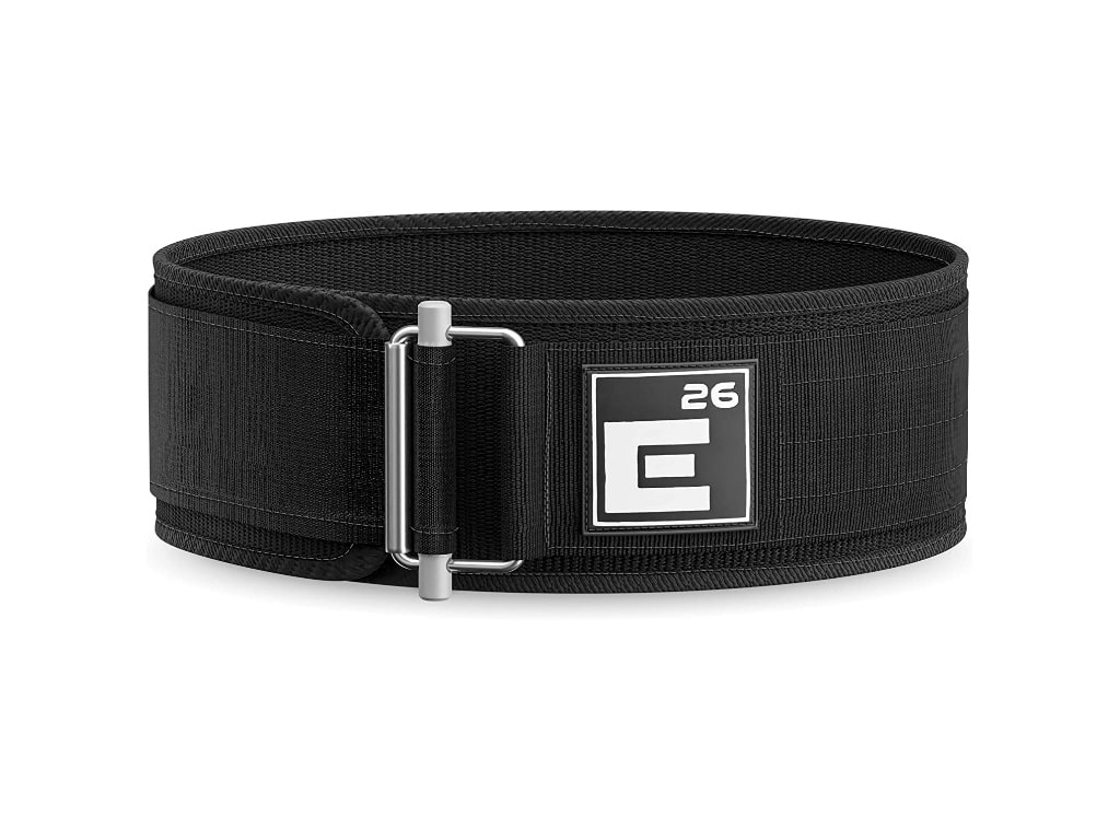 4. Element 26 Self-Locking Weight Lifting Belt - best weight lifting belt for crossfit, best weight lifting belt for powerlifting, best weightlifting belt