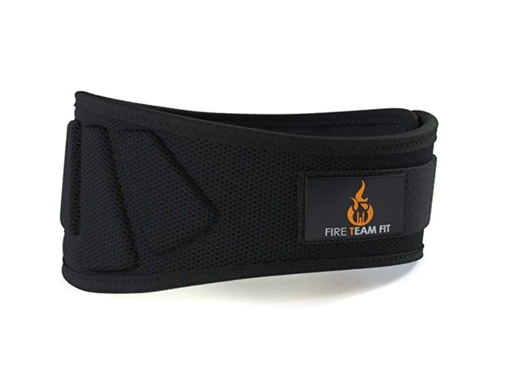 6. Fire Team Fit Weight Lifting Belt  - best weight lifting belt for crossfit, best weight lifting belt for powerlifting, best weightlifting belt