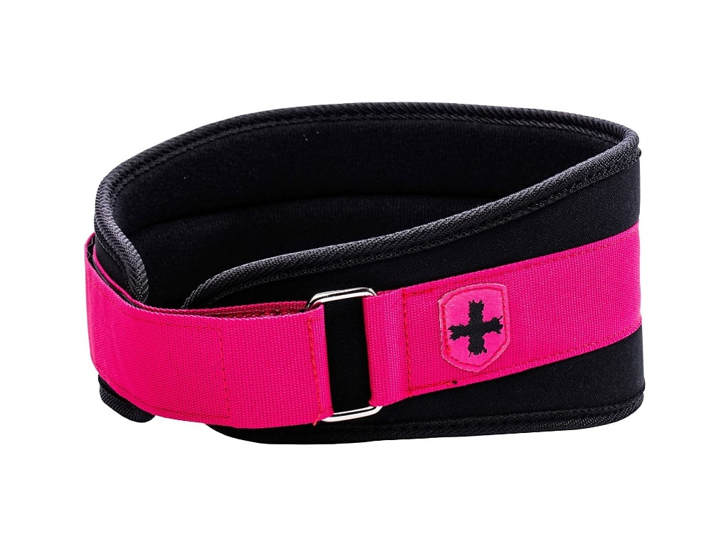 7. Harbinger Women's Nylon Weightlifting Belt  - best weight lifting belt for crossfit, best weight lifting belt for powerlifting, best weightlifting belt