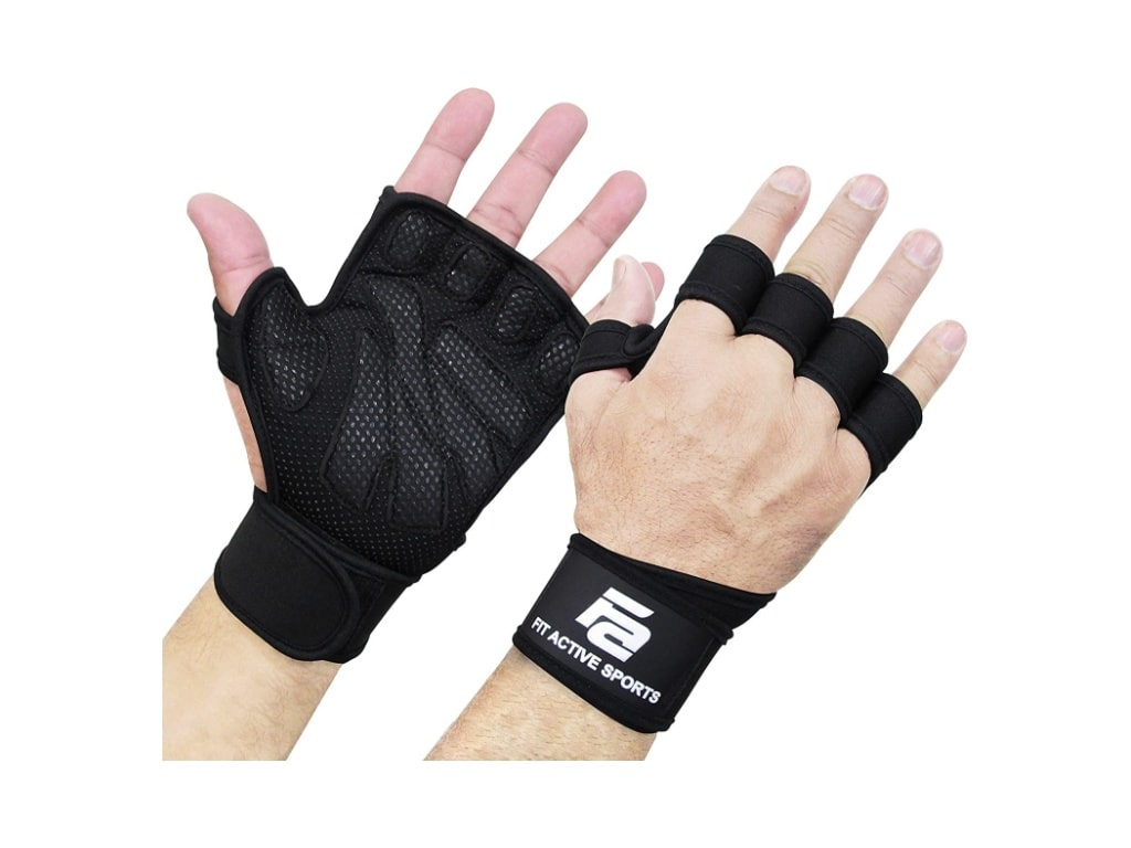 4. New Ventilated Weightlifting Gloves-best weightlifting gloves with wrist support