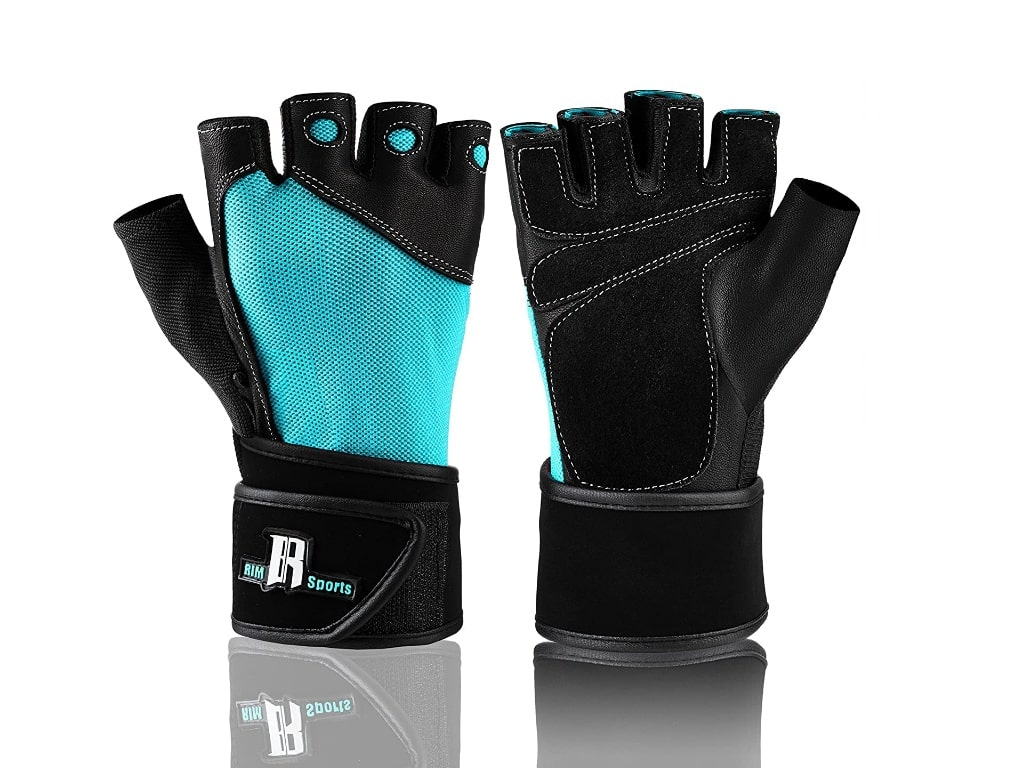 7. Rimsports Weightlifting Gloves-best weightlifting gloves with wrist support