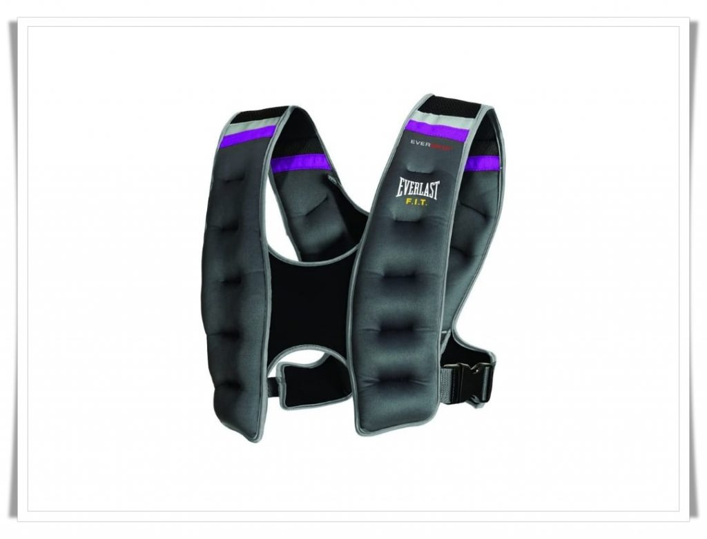 1. Everlast Weighted Vest with Reflected Grey - Best Weighted Vest for CrossFit