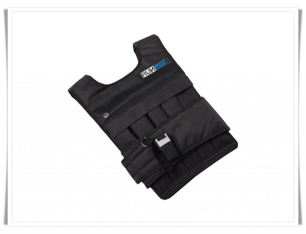 10. RUNFast Max 12 lbs. - 140 lbs. Adjustable Weighted Vest - Best Weighted Vest for CrossFit