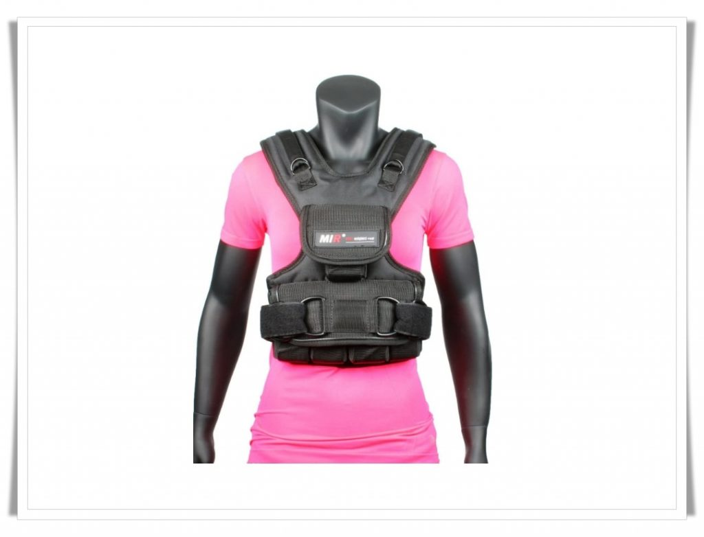2. MIR Women's Weighted Vest - Best Weighted Vest for CrossFit