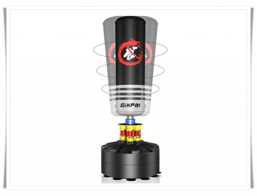 3. Gikpal Freestanding Punching Bag-Best Punching Bags for Appartments