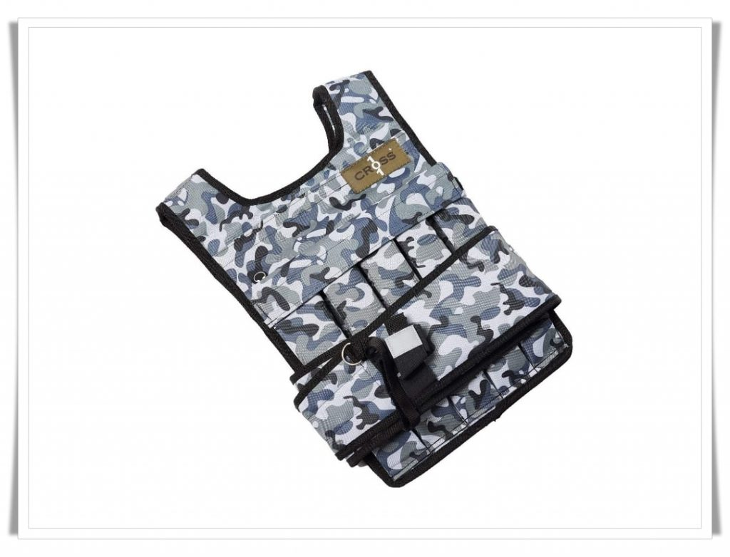4. Cross101 Adjusted Weighted Vest - Best Weighted Vest for CrossFit