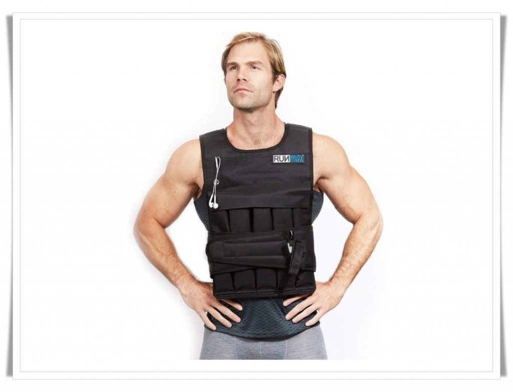 7. RUNmax Pro Weighted Vest - Best Weighted Vest for CrossFit